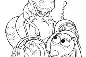 Best Toy Story Coloring Pages