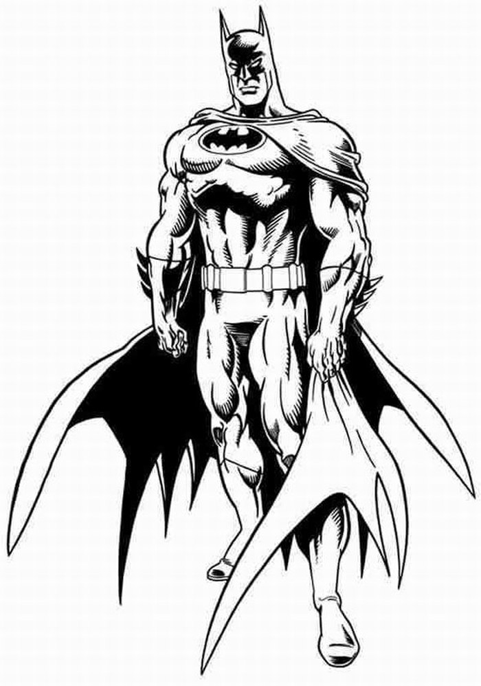 New Batman Free Coloring Pages Letscoloringpages Com Amazing