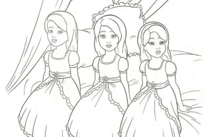 Real Barbie Movies barbie coloring pages