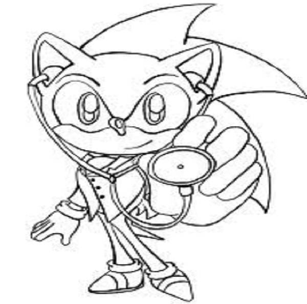 Sonic coloring pages | disney coloring pages for kids | color pages | coloring pages to print | kids coloring pages | #90