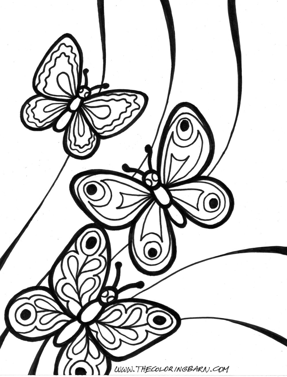 Butterfly Coloring Pages Butterfly Coloring Pages For Kids 15