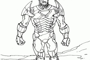 Iron Man Coloring pages | Coloring page for kids | #20