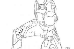 Iron Man Coloring pages | Coloring page for kids | #26