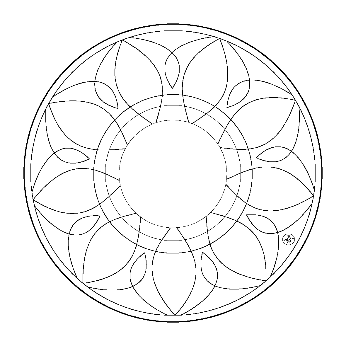 Mandala Coloring pages FREE coloring pages 21 Free