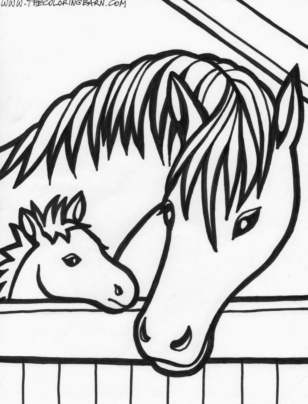 Horse coloring pages | FREE coloring pages | #28 Free Printable ...
