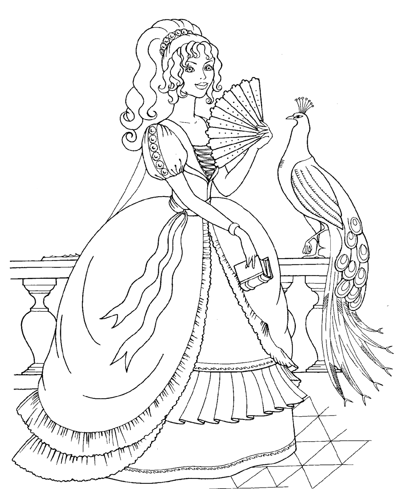 Disney Princess Coloring pages 30 Free Printable