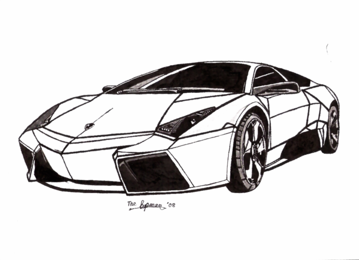Lamborghini Coloring Pages Coloring Pages Of Cars 7 Free