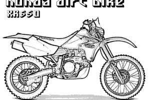 Dirt Bike Coloring Pages | Coloring pages for Boys | #10