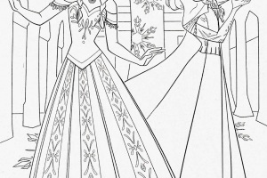 Frozen Coloring-Pages | Color pages | FREE coloring pages for kids |Printable coloring pages for kids| #40