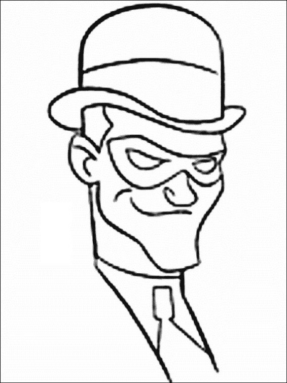 Riddler Batman Coloring Pages